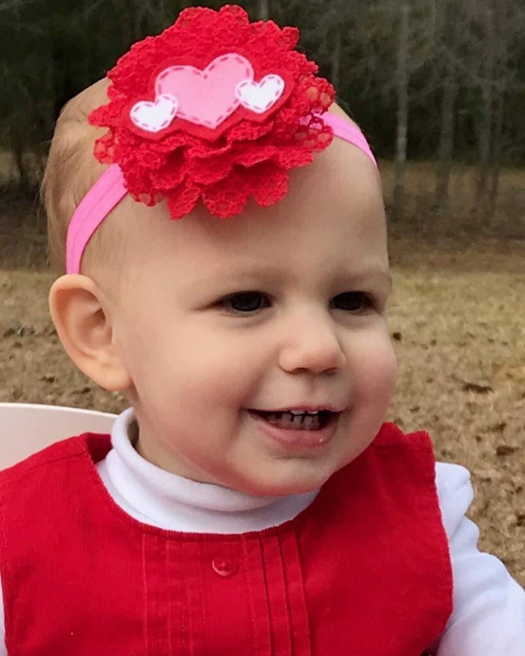 baby girl valentine\u2019s day gift red baby headband baby girl gift heart baby girl headband valentine\u2019s day baby headwrap
