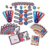 Power Rangers Ninja Steel 48 Piece Mega Favor Pack