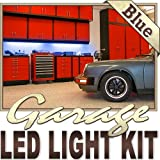 Biltek 3.3' ft Blue Work Bench Tool Box LED Strip Lighting Complete Package Kit Lamp Light DIY - Workbench Tool Box Roof Shed Truck Bed Home Gym Lamp Waterproof 3528 SMD Flexible DIY 110V-220V