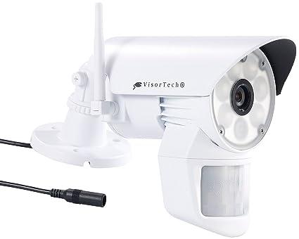 Visera de tecnología de vigilancia DSC-720, LED Con LED-luz y movimiento