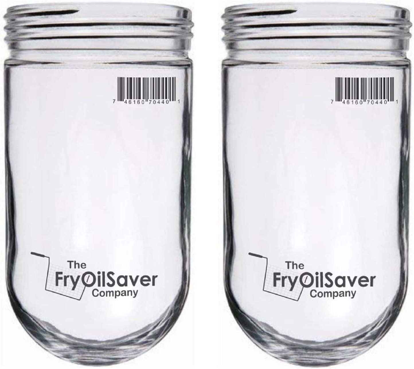 FryOilSaver, CHG L10-X006 Glass Globe Bulb Cover for Walk in Refrigerators, Light Bulb Protector Globe for Hood Bulbs, 31902, Pack of 2