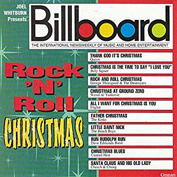 Father Christmas The Kinks.Queen Billy Squier Foghat The Kinks The Beach Boys