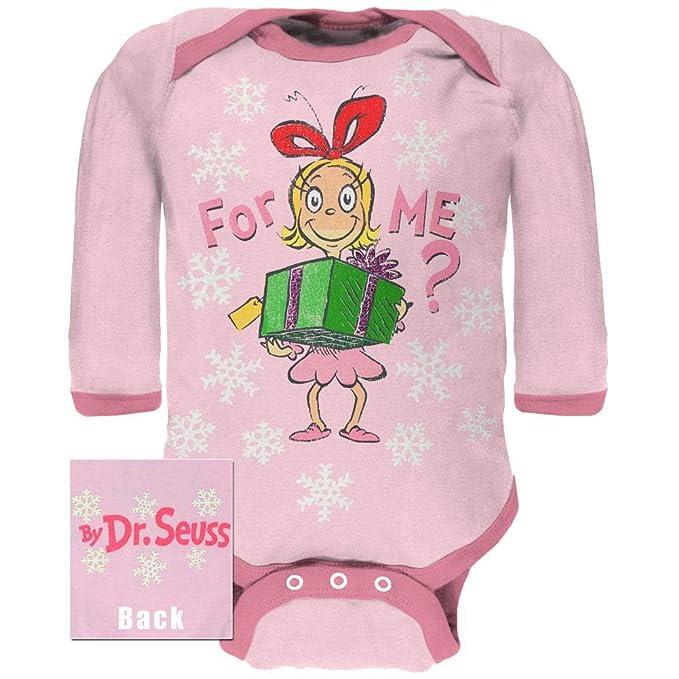 Amazon.com: Dr. Seuss – para mí Cindy manga larga bebé una ...