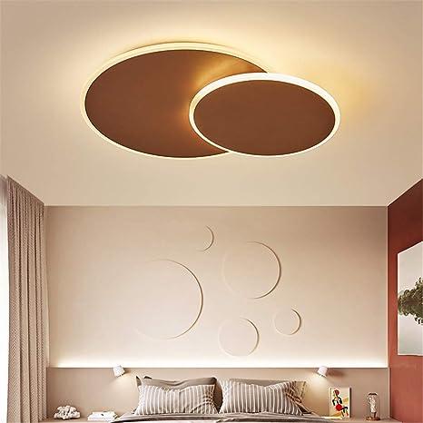 Ronda rotación moderna LED luces de techo para sala de estar ...