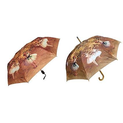 Rainstoppers Juego de paraguas con tapón de lluvia
