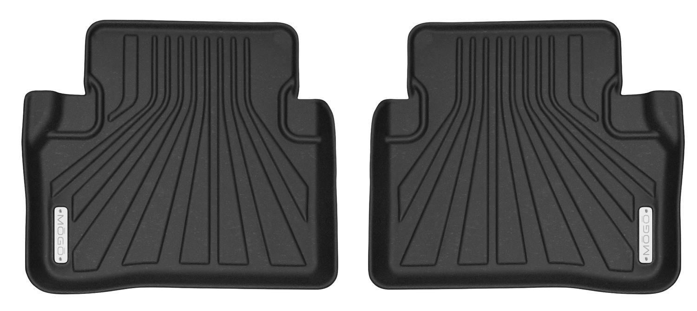Second Seat Fits 17-18 Mercedes-Benz E-Class MOGO 70191 Black Floor Liners