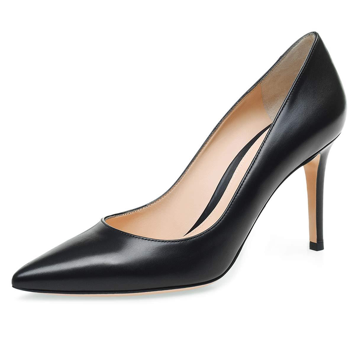 904bb6d3a930c Amazon.com | IMOSHINE Women's Sexy Pointed Toe High Heels Ladies ...