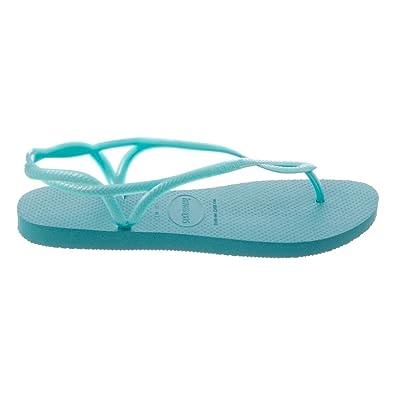 e6731747d3746 Green Luna thong Havaianas Green 39   40  Amazon.co.uk  Shoes   Bags