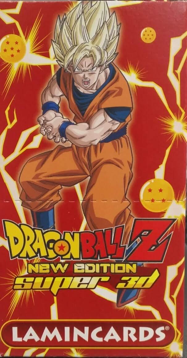 dragon ball z super 3d Caja 30 Sobres lamincards New Edition ...