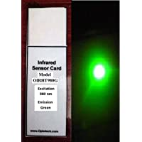 High Temperature Infrared(IR) Sensor Cards-980nm to Green