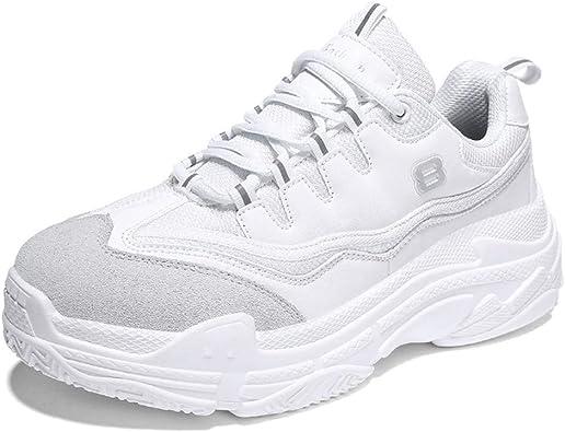 Zapatillas de Deporte para Hombre Zapatillas de Deporte con Plataforma de Tendencia Informal Zapatillas para Correr Zapatillas Deportivas para Correr: Amazon.es: Zapatos y complementos