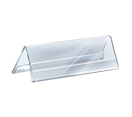 Saisan Acrylic Name Plate For Table And Desk 8 Inches Amazon In