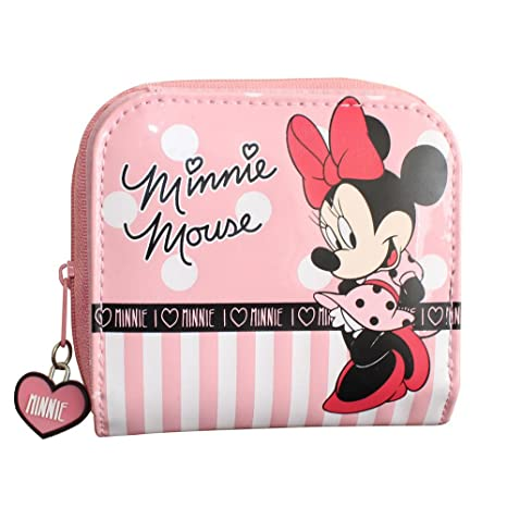 Disney Minnie Mouse Billetera con Monedero, Rosa: Amazon.es ...