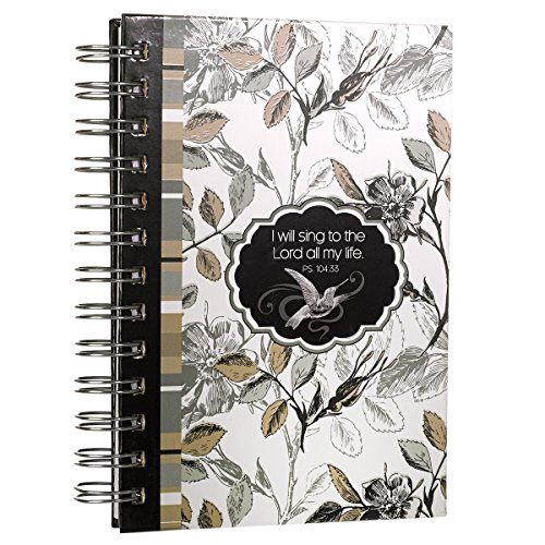 Hummingbird Song Small Hardcover Wirebound Journal - Psalm ()