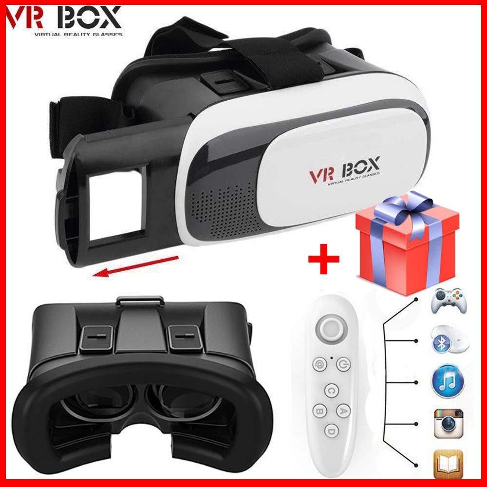 e0c283a69d4 Amazon.com  Google Cardboard Virtual Glasses Vr Box 2.0 With Remote ...