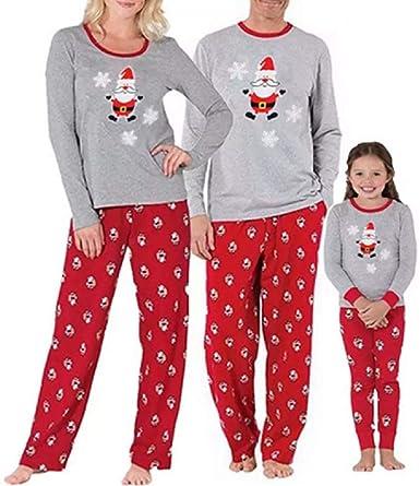 Conjunto de Pijama Familiar a Juego de Pijamas de Navidad con ...