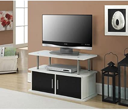 Genial TV Stand Entertainment Center Media Gaming Storage Cabinet For DVDs, CDs,  Video Games,