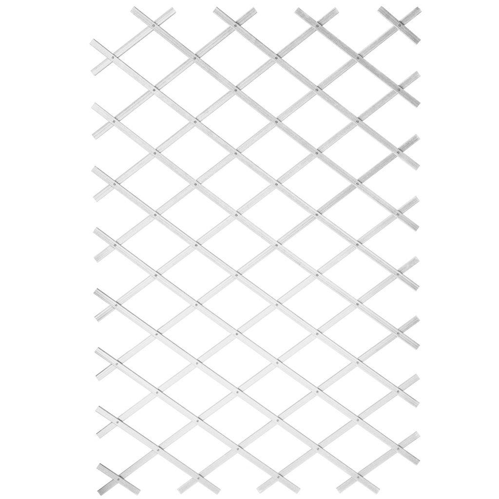 Extendible Plastic Trellis White–50x 150cm AUCUNE 80062672