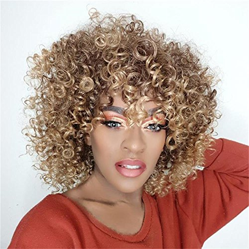 AISI HAIR Synthetic Curly Blonde
