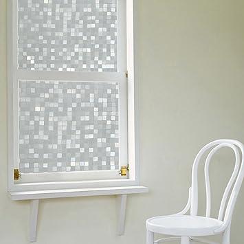 KINLO® Folie Fenster statisch 90x200cm glasfolie für fenster folie ...