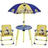Despicable Me Minions Kids Outdoor Table And Chairs Garden Patio Outdoor  Table U0026 Chairs Set With