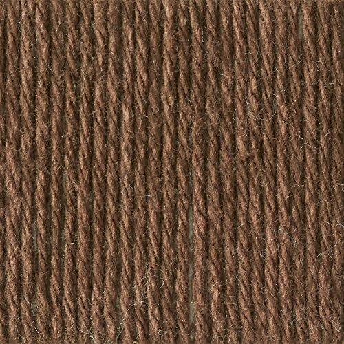 Lily Sugar 'N Cream The Original Solid Yarn - (4) Medium Gauge 100% Cotton - 2.5 oz - Warm Brown - Machine Wash & Dry