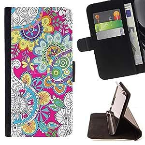 Jordan Colourful Shop - FOR Apple Iphone 6 - ?hold it inside - Leather Case Absorci¨®n cubierta de la caja de alto impacto