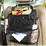 Zone Tech Car Leakproof Litter Bag Organizer