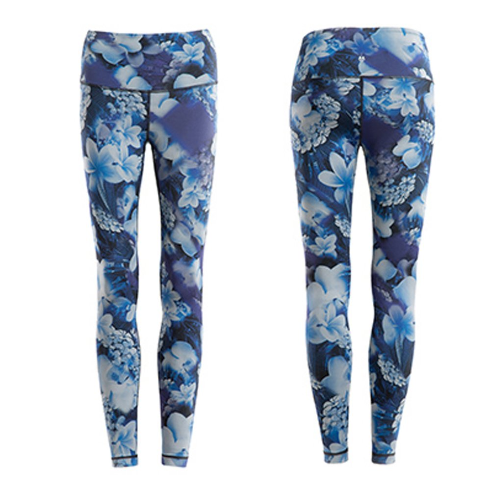 Aimsunaw Womens High Rise Leggings Yoga Pants Compression Tights Graphic Print Active Leggings