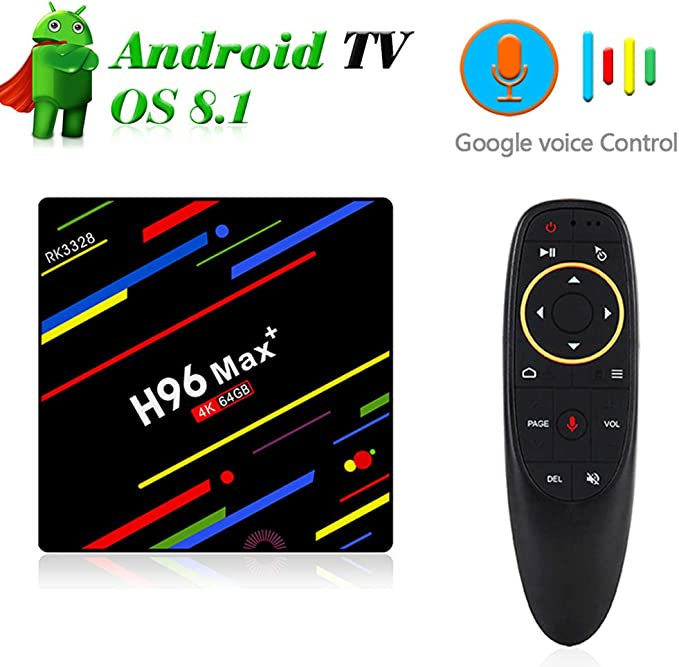 SHENGY Android 8.1 Google Voice Control Freeview Box TV, Quad Core ...