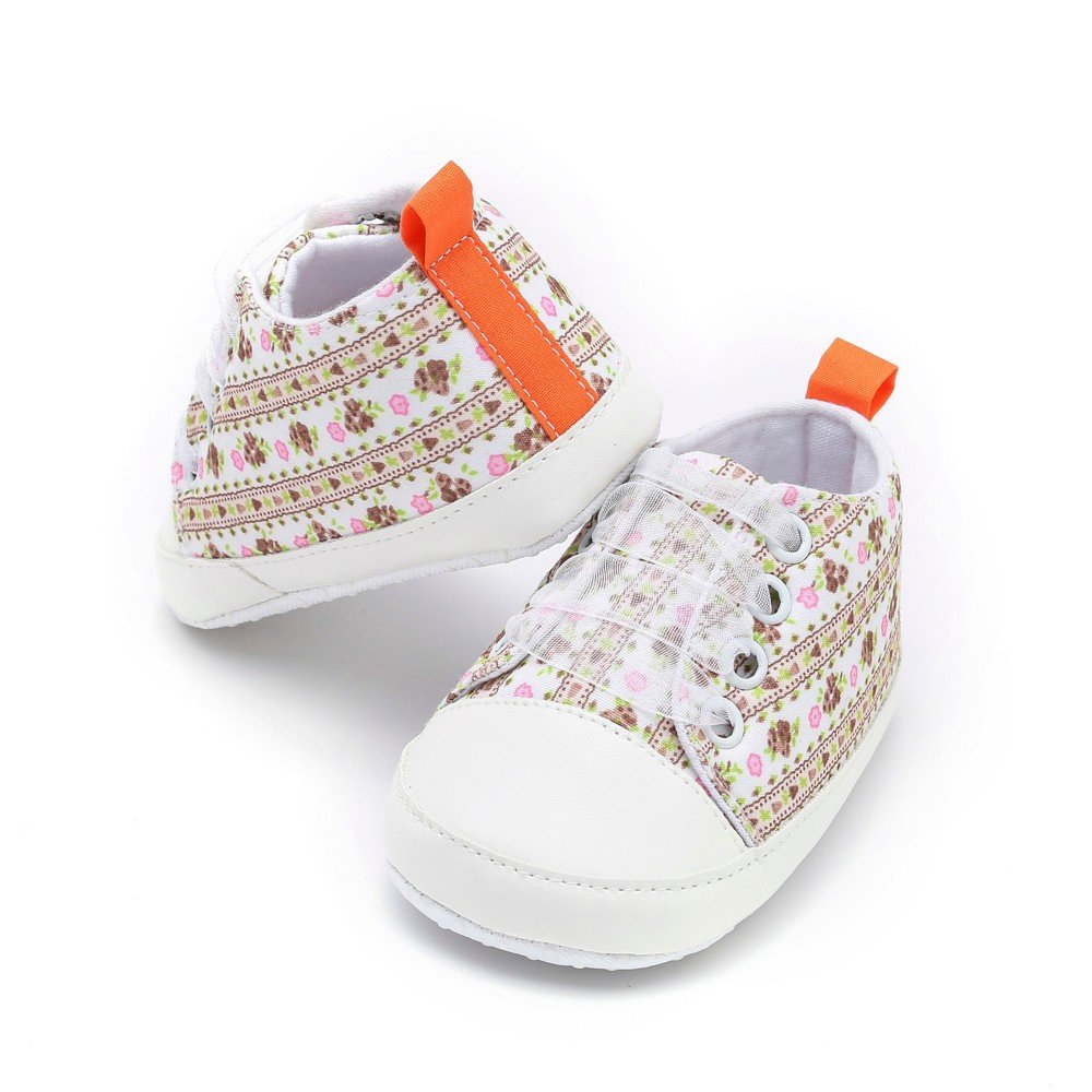 Newborn/Baby/Toddler Girls/Lace Floral Anti-Slip Cute Soft Sole/Casual/Shoes