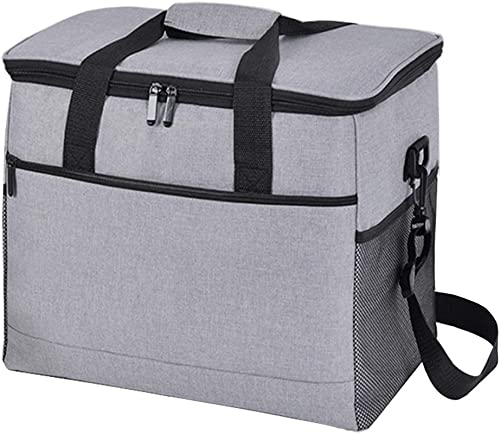 Idle Hippo Cooler Bag 24-Can Soft Sided Coolers Portable Insulated Leakproof Cooler Large Lunch Box Bag for Beach, Travel, Camping 17L