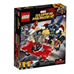 LEGO Super Heroes Iron Man: Detroit Steel Strikes 76077 Building Kit 377 Pieces