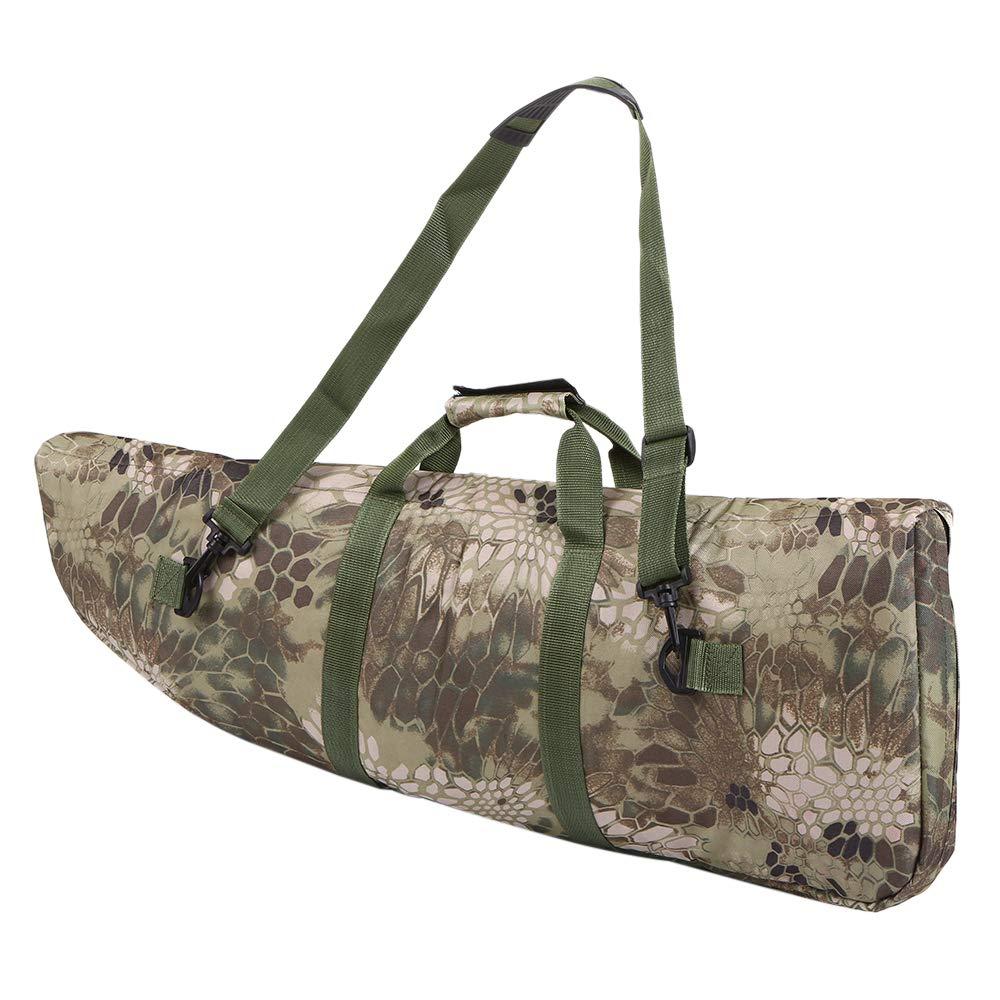 Ksodgun 85 cm Bolsa de Aparejos de Pesca Bolsa de Almacenamiento de Aparejos de ca/ña de Pescar al Aire Libre Caza Caza del Rifle