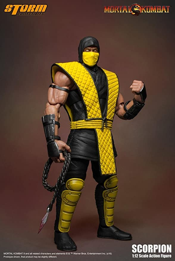 Amazon Com Storm Collectibles Mortal Kombat Vs Series Scorpion 1