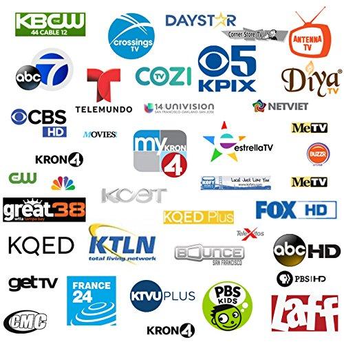 UHF/VHF/FM Radio Amplified HDTV Outdoor Antenna 150 Miles