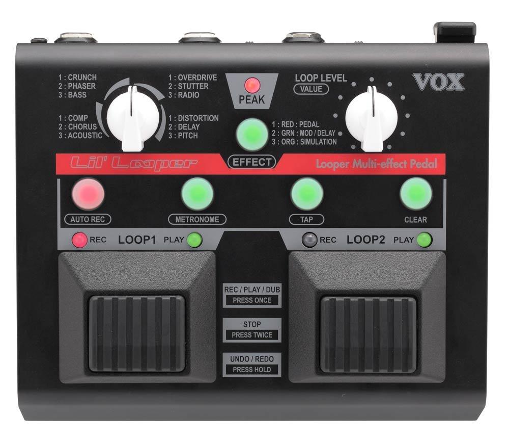VOX Lil' Looper Pedal, 2 Loops Parallel, FX VOX Lil' Looper Pedal VLL1