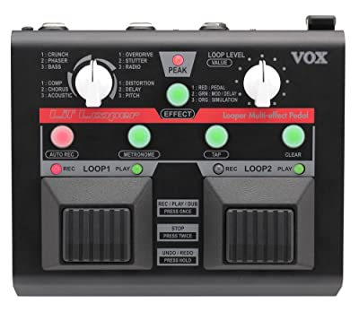 VOX VLL1 Guitar Looper Multi Effect Pedal