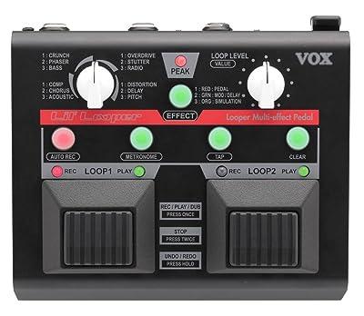 VOX VLL1 Guitar Looper Multi Effect Pedal