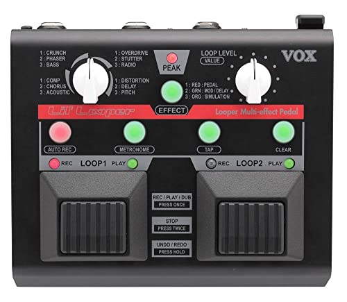 VOX Lil' Looper Guitar Multi-Effects Pedal