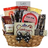 GreatArrivals Gift Baskets 1 Piece Pawsitively Delicious! Pet Dog Gift Basket, 7 lb