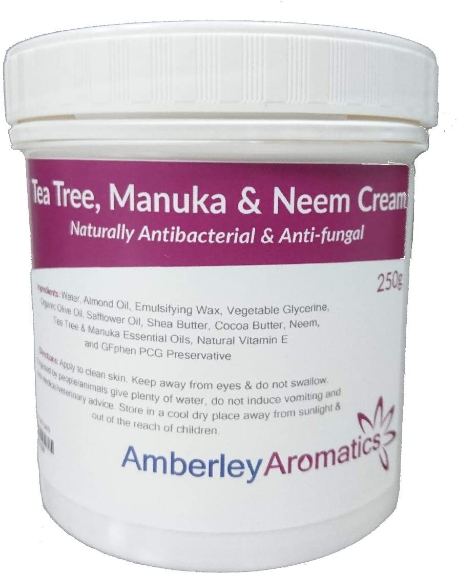 Tea Tree, Manuka & Neem Cream 200g