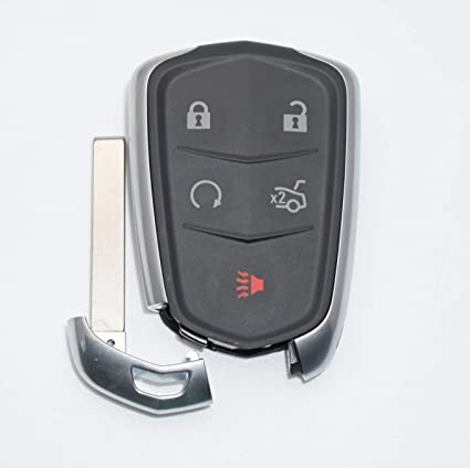 Amazon Com 5 Button Cadillac Cts Smart Proximity Remote Key Hyq2ab
