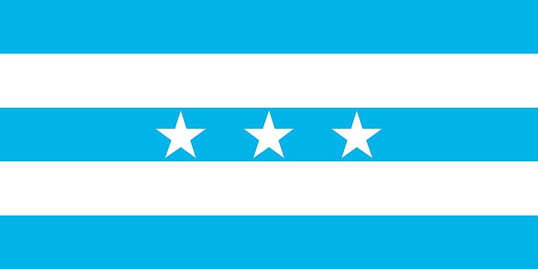 magFlags Bandera Large Guayaquil | City Santiago de Guayaquil in Ecuador; Flag of the Guayas Province | bandera paisaje | 1.35m² | 80x160cm: Amazon.es: ...