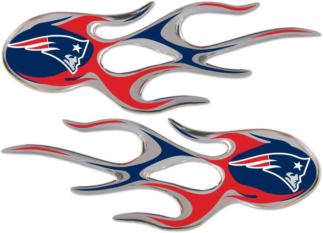 Set of 2 Team ProMark New England Patriots MicroFlame Graphics
