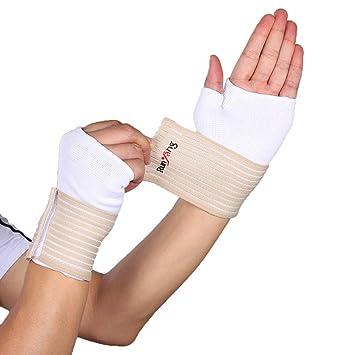 ViewHuge Vendaje de Alta Elasticidad para Yoga, muñeca ...