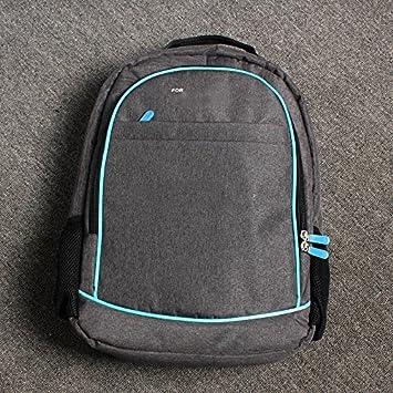 Mochila de viaje organizadora de almacenamiento funda protectora de transporte bolsa de hombro para Sony PS4 PlayStation 4 PS4 Slim Pro: Amazon.es: Electrónica