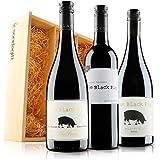 Sendagift by Virgin Wines 'The Black Pig' Luxury Australian Cellar Selection in Wooden Gift Box - (Case of 3)