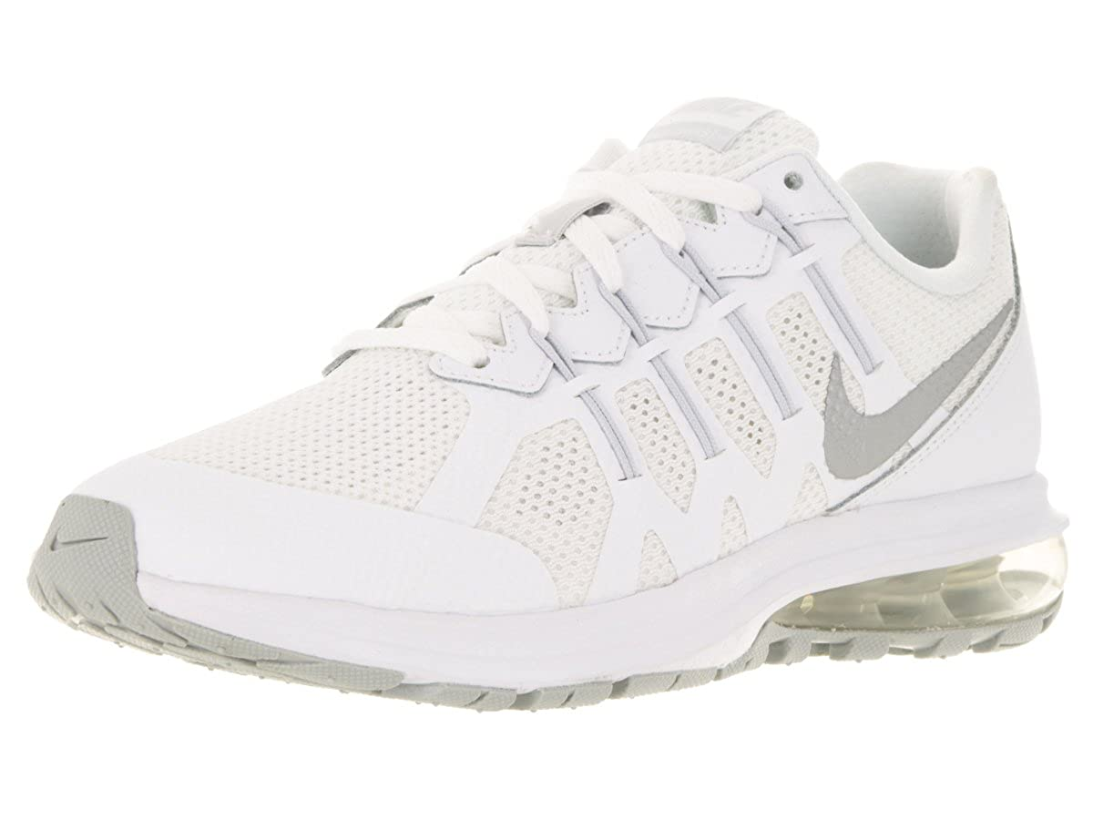 Amazon.com | Nike Kids Air Max Dynasty (GS) White/Metallic Silver/Pr Pltnm Running  Shoe 6.5 Kids US | Running