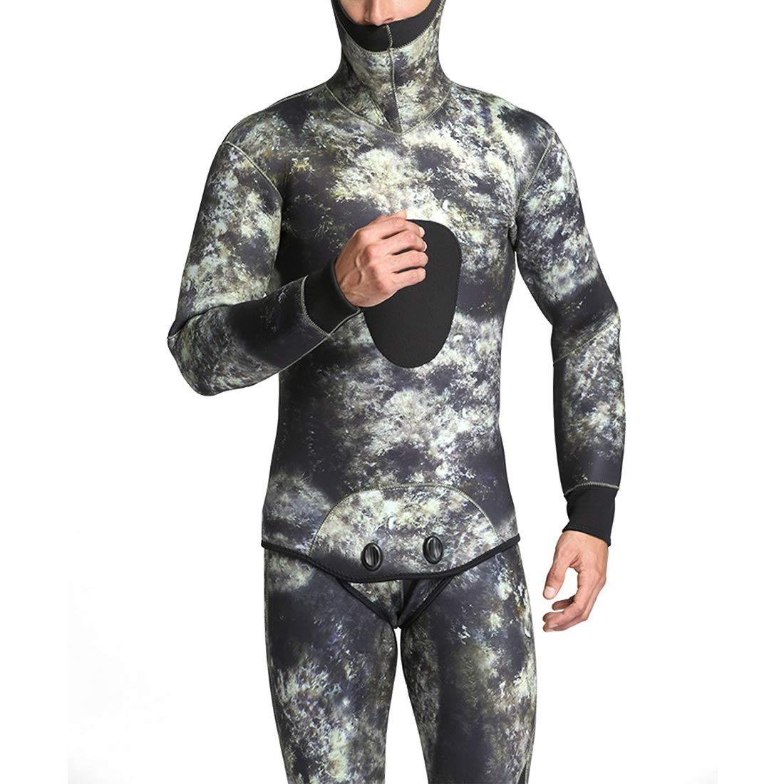 CeSuoLiBengDi ウェットスーツ サーフィン メンズ 水着 ダイビング サーフィン 迷彩服 XX-Large 日焼け止め : 吸汗速乾 防寒 保温性優れる 長袖 (Color : 2, サイズ : M) B07G77H7HP XX-Large|2 2 XX-Large, オオサトマチ:8e45234b --- sharoshka.org